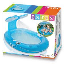 amazon com intex whale spray pool 82