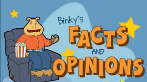 arthur and friends game video binky u0027s facts and opinions episode