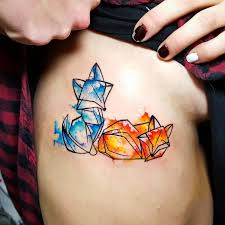 46 adorable fox tattoo designs and ideas watercolours origami