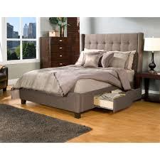 Bedroom Luxurious California King Platform With Drawers Kota