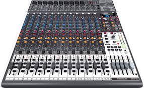 Mixing Table Premium 24 Input 4 2 Bus Mixer 24 Bit Multi Fx Processor Amazon
