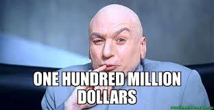 Evil Memes - one hundred million dollars dr evil meme aussie memes