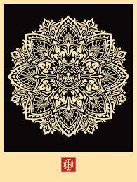 mandala ornament 2 obey