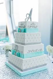 turquoise ribbon and butterflies cake love the cake but the