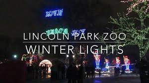 Zoo Lights Prices by Lincoln Park Zoo Lights Youtube