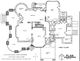 cross house restoration floor plans and blueprints pinterest