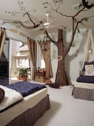 bedroom amazing kid rooms using outdoor landscaping with tree decor