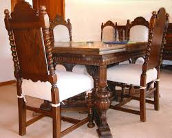 antique dining room sets vintage dining room chair with oak dining chairs