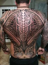 full back maori tattoo design of tattoosdesign of tattoos
