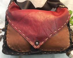 leather purse etsy