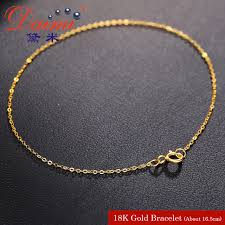 light chain necklace images Daimi pure gold bracelet chain 18k yellow gold chain light chain jpg