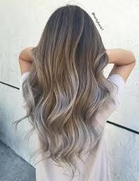 blonde streaks for greying hair resultado de imagen para foam balayage gray and brown peinados