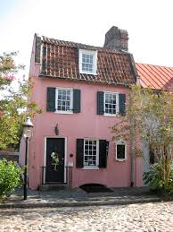 3 Story Houses Charleston U0027s U0027pink House U0027 Has U0027blue U0027 Past Sandyjacktraveltips