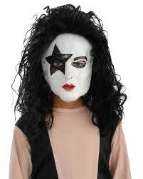 Rockstar Halloween Costumes A434 Kiss Demon Starchild Spaceman Catman 80s Rock Star Halloween