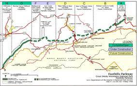 Garden State Parkway Map Engineering Marvel U0027 Foothills Parkway U0027s U0027missing Link U0027 Complete
