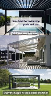 Pergola Gazebo With Adjustable Canopy by Best 25 Aluminum Pergola Ideas On Pinterest Pergola Patio Roof