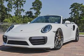 porsche white white porsche 991 2 turbo brixton forged wheels