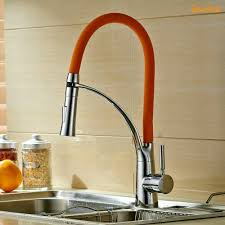 Led Kitchen Faucet by Online Get Cheap Faucet Orange Kitchen Aliexpress Com Alibaba Group