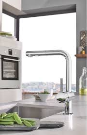 grohe minta kitchen faucet faucet 30300000 in polished chrome by grohe