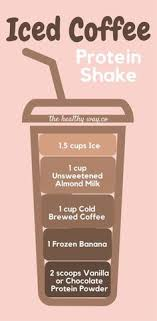 100 calorie muscle milk light vanilla crème iced coffee protein shake recipe to lose weight 115 calories per