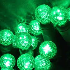 green led string lights led g12 70 string light set green led string lights