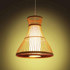Dining Room Pendant Lights Discount Pastoral Bamboo Dining Room Pendant Lamps Creative Study