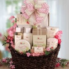 spa gift baskets for women hostess gift ideas