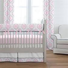 Moroccan Crib Bedding Pink And Navy Moroccan Damask Crib Bedding Carousel Designs