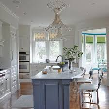 rounded kitchen island curved kitchen island design ideas