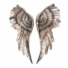 ergonomic angel wings wall decor wholesale wall sticker cross