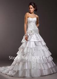 wedding dress 2012 2012 fashion a line strapless scoop neckline bridal