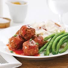 recette de cuisine viande boulettes de viande sauce barbecue pour sacs à congeler recettes