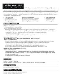 retail sales representative sample resume ideas collection sample resume for medical sales representative
