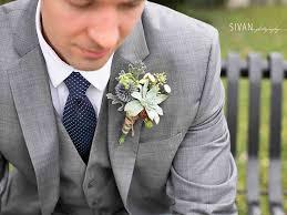 succulent boutonniere garden gate florals boutonniere for