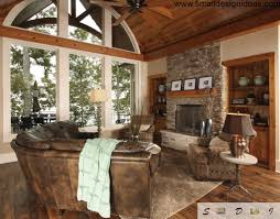 living room rustic country decorating ideas fireplace bedroom
