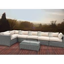 Sectional Cushions Sunbrella Patio Furniture You U0027ll Love Wayfair