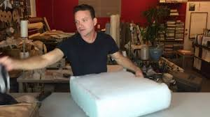 Buy Foam Couch Cushions Replace The Foam In Your Seat Cushions Fast And Easy Youtube
