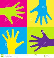 kids hands illustration 16827394 megapixl