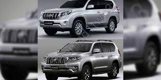 2018 toyota prado facelift leaked update photos 1 of 8