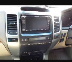 lexus gx470 aftermarket accessories replacing oem nav with non nav climate controls and aftermarket