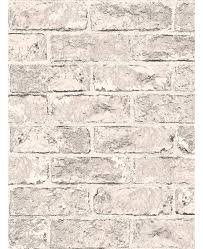 taupe and black brick effect wallpaper 262925 windsor wallcoverings