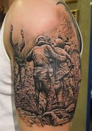 pow mia military sleeve tattoo design
