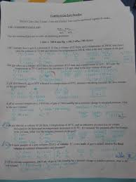 The Ideal And Combined Gas Laws Worksheet Answers Unit 2 Notes Ws And Keys Chemistry