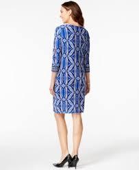 jm collection petite split neck sheath dress only at macy u0027s
