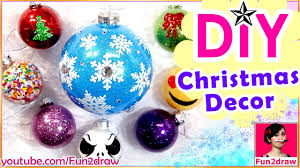 easy diy christmas decoration ornaments amazing art how to