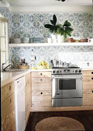 wallpaper ideas for kitchen the best patterned tiles and wallpaper ideas for your kitchen home
