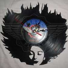 coolest clocks vinyl wall clock kate bush
