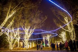 christmas light show toronto toronto just got a huge winter festival by the lake