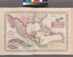Map Of Mexico And Central America by File Map Of Mexico Central America And The West Indies Map Of