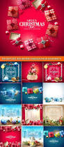 2017 happy new year and merry christmas vector background 39